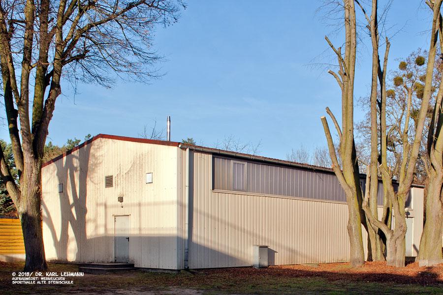 Turnhalle Alten Steinschule Werneuchen